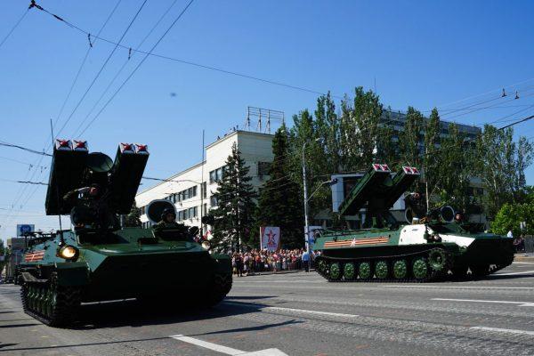 Российская помощь Донбассу.