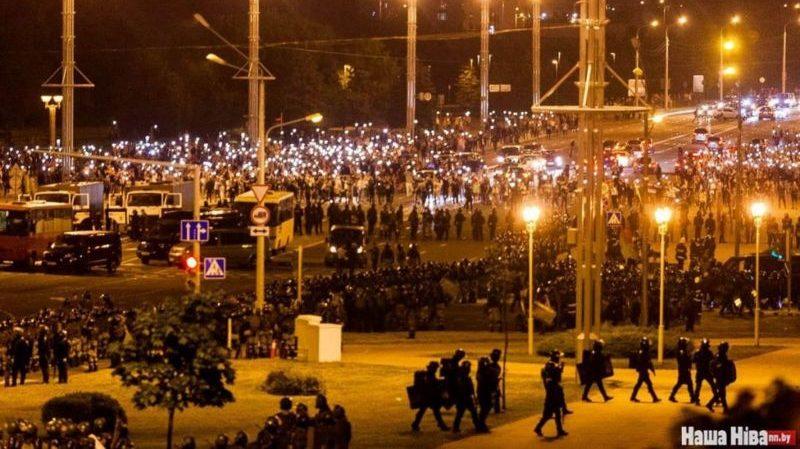 Протесты в Белаурси