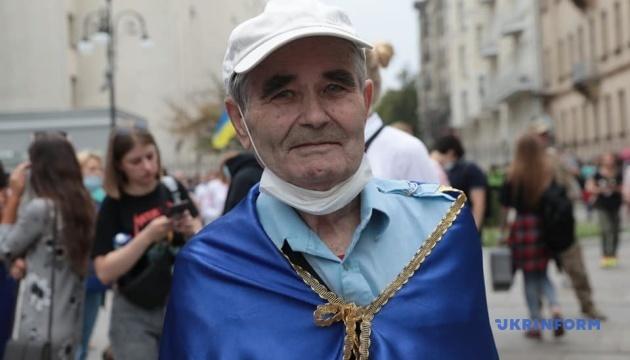 На Банковой активисты требовали освободить подозреваемых по делу об убийстве Шеремета