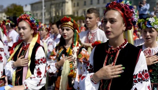 За независимость проголосовали бы сейчас 84,4% украинцев
