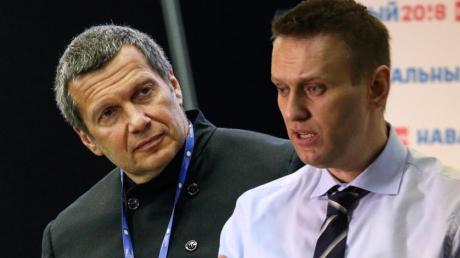 Соловьев об отравлении Навального.