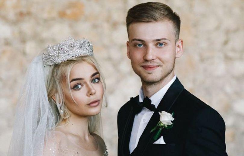 Алина Гросу с экс-мужем Александром