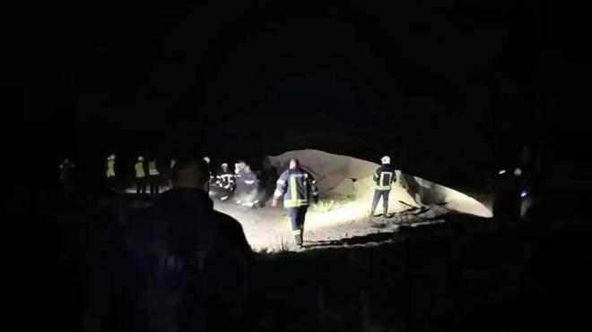 Взрыв на газопроводе вблизи Чабанов.