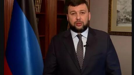 """Денис Пушилин заявил о вхождении """"ДНР"""" в РФ."""