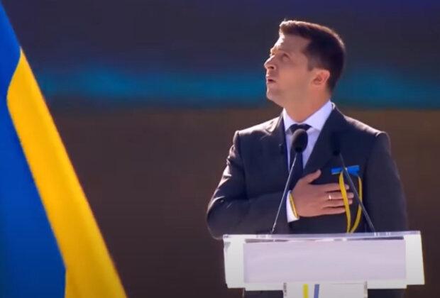 Смена гимна Украины.