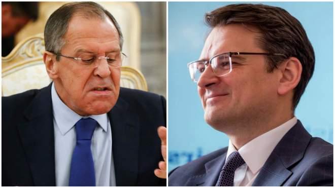 Кулеба напомнил Лаврову о том, как РФ срывает Минские соглашения.