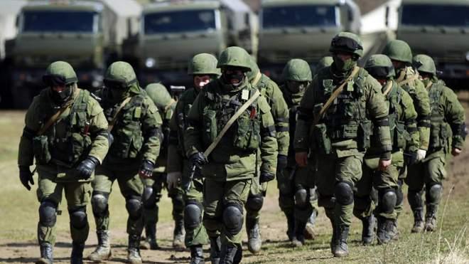 Войска РФ в Крыму.