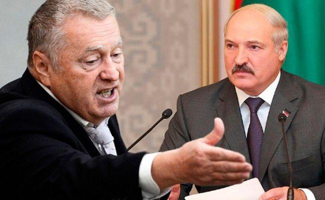 Владимир Жириновский и Александр Лукашенко.