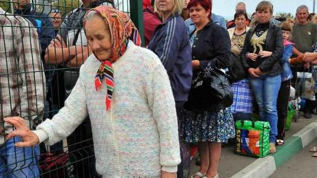 Верификация пенсионеров из ОРДЛО.