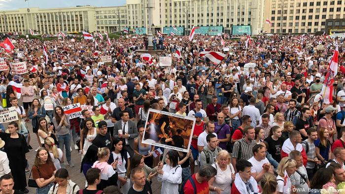 протесты в РБ