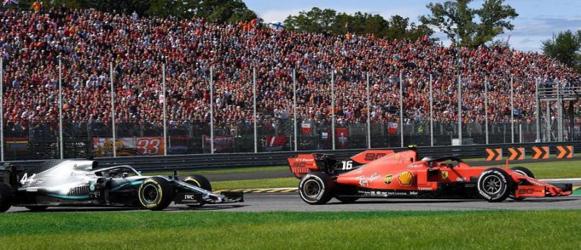 У Формулі-1 на Гран-прі Італії на трибунах в Монці з'явилися картонні глядачі (фото)