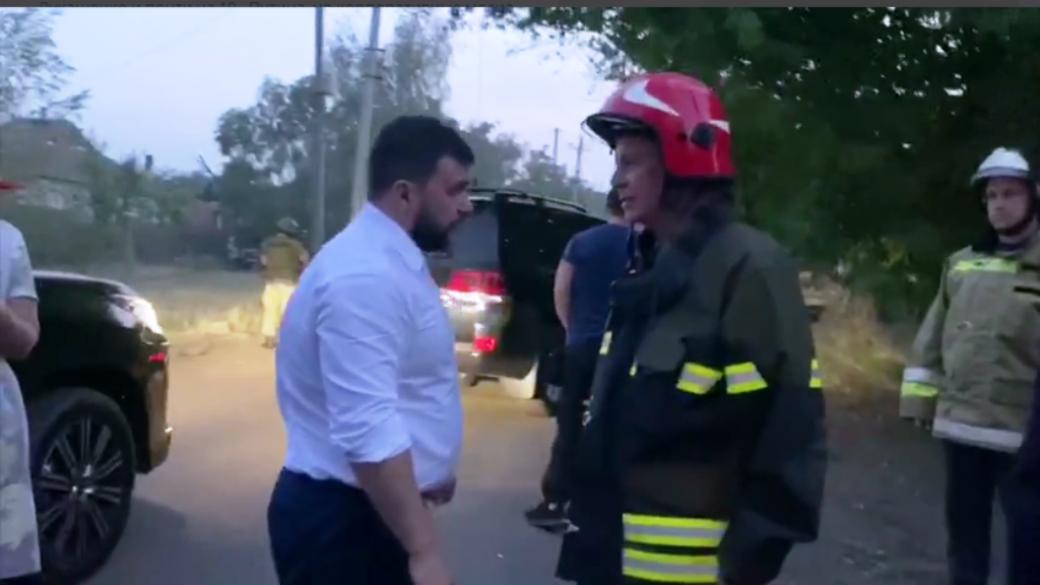 Пушилин и пожарные