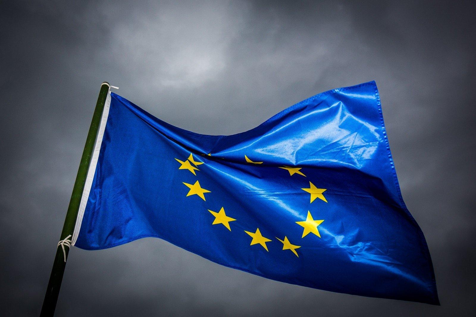 Флаг Евросоюза.