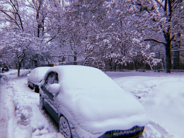 Зима без снега.