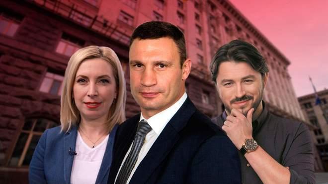 Кандидаты в мэры Киева.