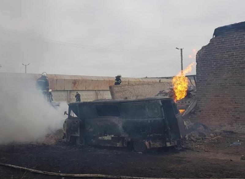 Взрыв на газоперерабатывающей станции под Харьковом