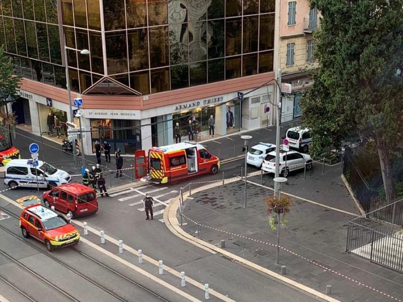 Террористический акт во Франции