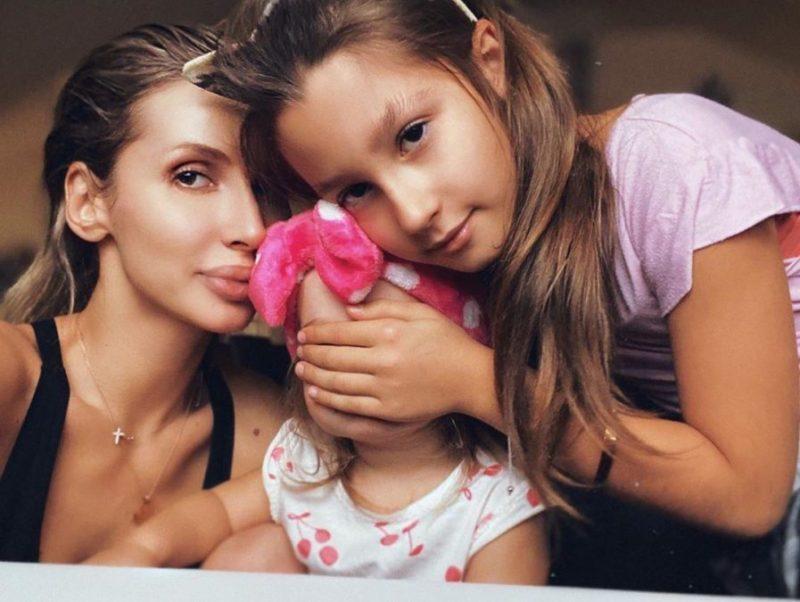 Светлана Лобода с детьми