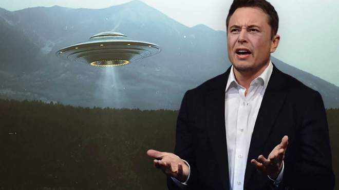 Илон Маск и инопланетяне.