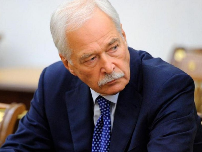 Представитель РФ в ТКГ Борис Грызлов.