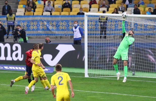 Украина против Испании