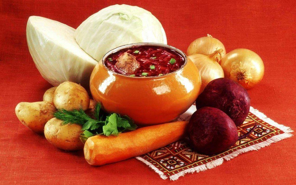 Борщ - культурное наследие Украины.