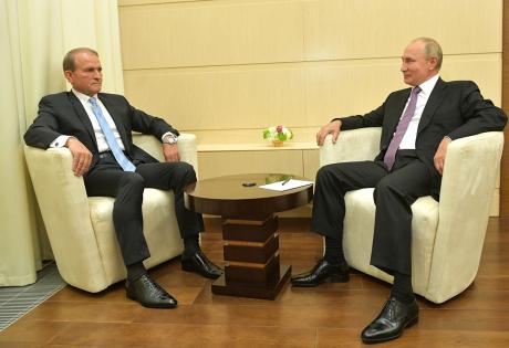 Встреча Медведчука с Путиым.