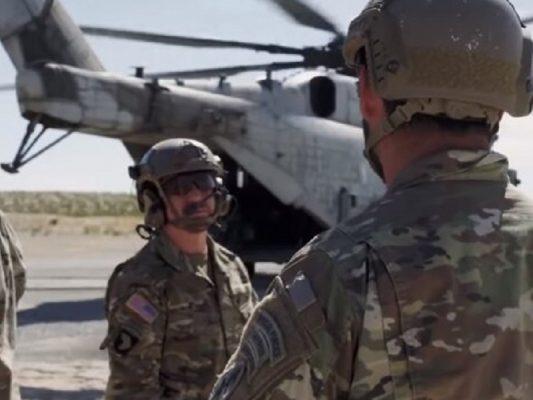Войска США передислоцируются ближе к востоку.
