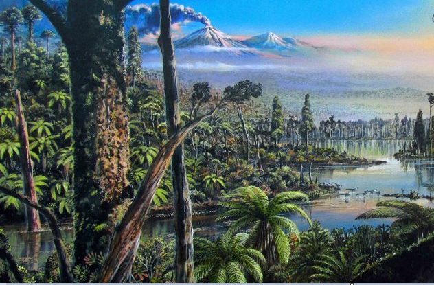 Тропический лес древней Антарктиды
