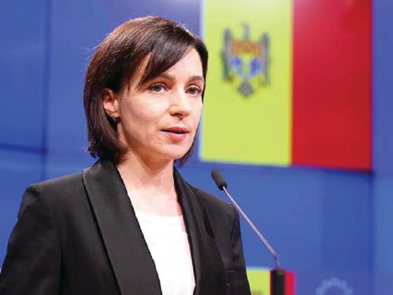 Президент Молдовы Майя Санду.