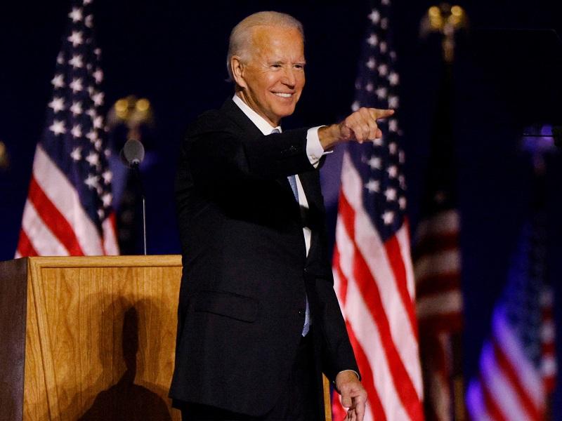 Джо Байден - новый президент США.