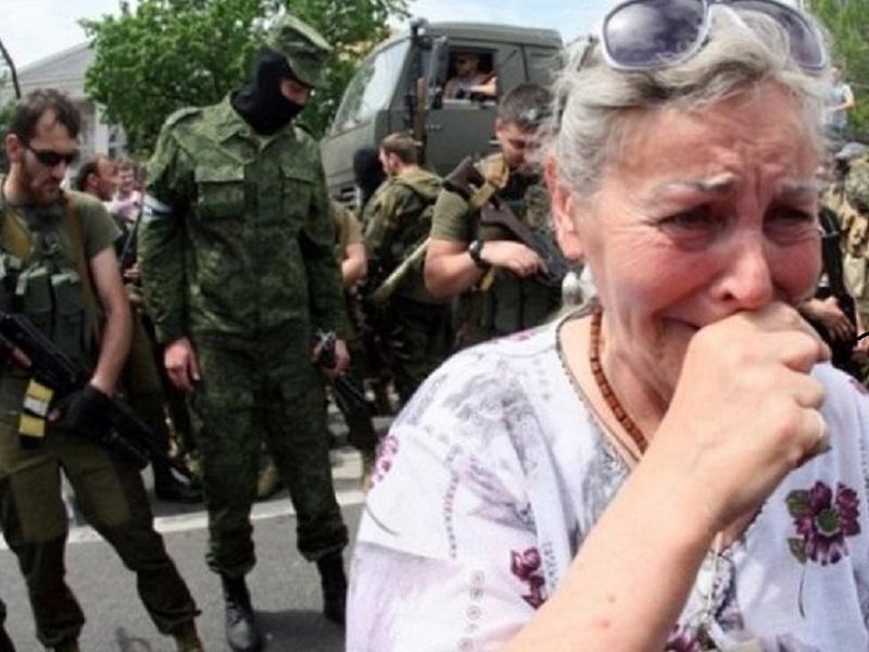 Донбасс никогда не будет российским.