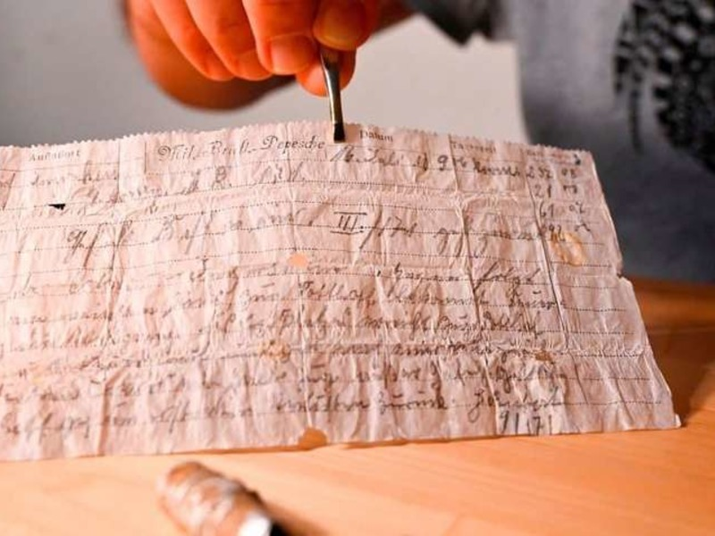 Старинная записка