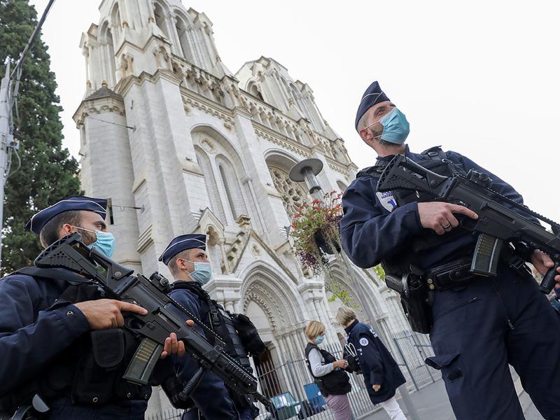 Нападение во Франции