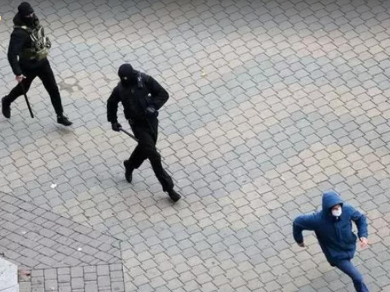 Митинг в Беларуси