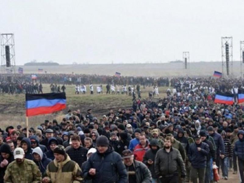 """В """"Л/ДНР"""" объявлены """"военные сборы"""" для резервистов."""