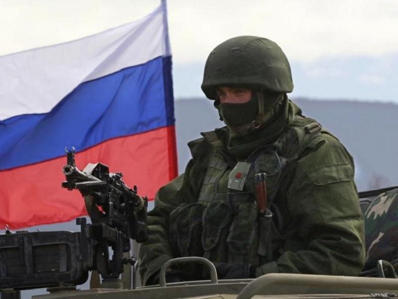 Боевое столкновение спецназа Украины и РФ.