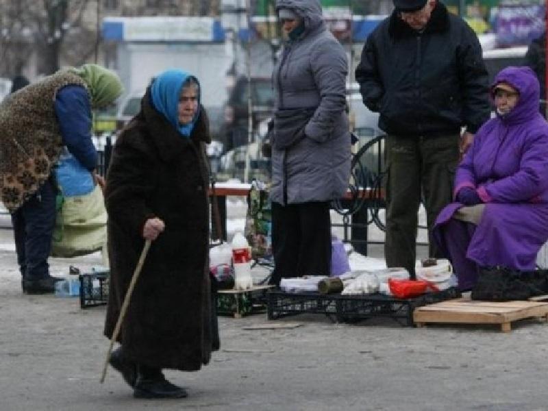 Суровая жизь украинских пенсионеров.