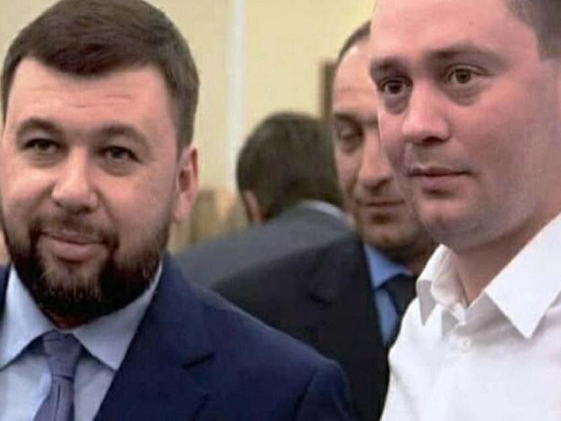 Денис Пушилин с Романом Трошиым.