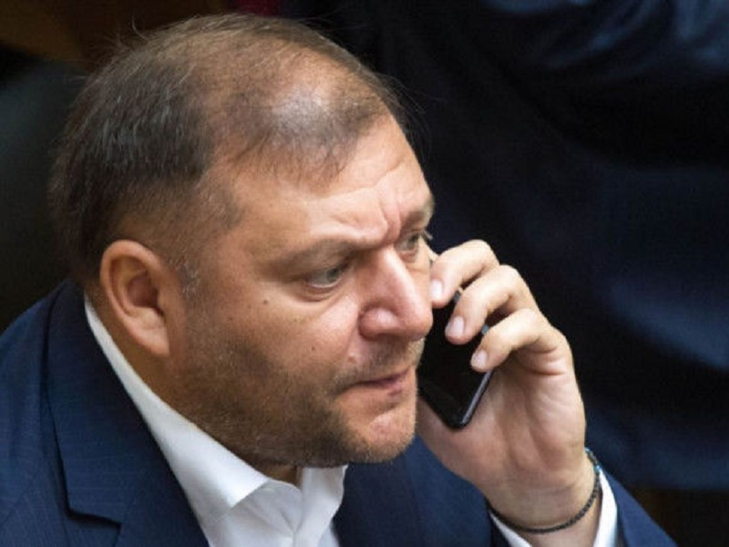 "Как Добкин организовывал ""ХНР""."