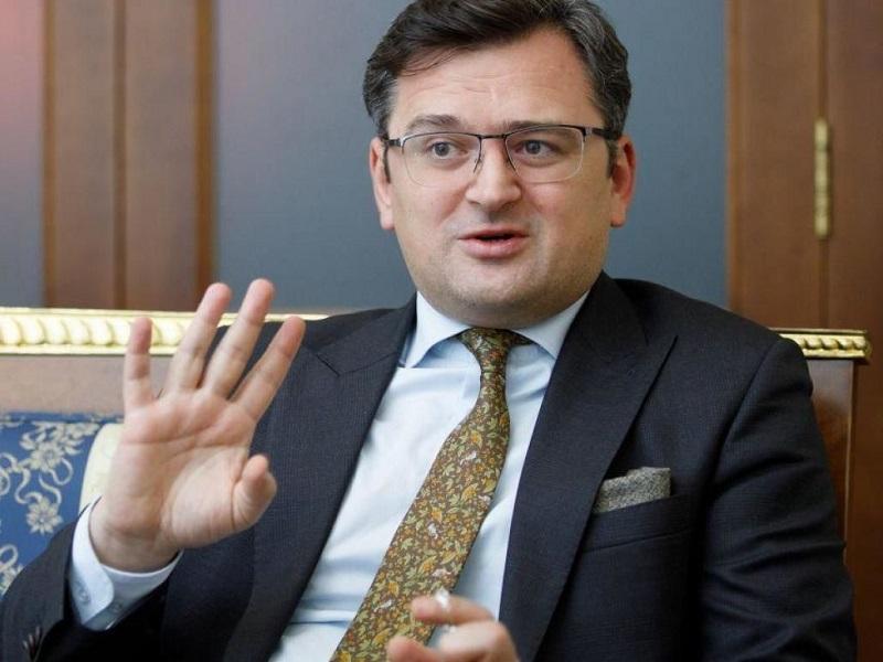 Глава МИД Украины Дмитрий Кулеба.