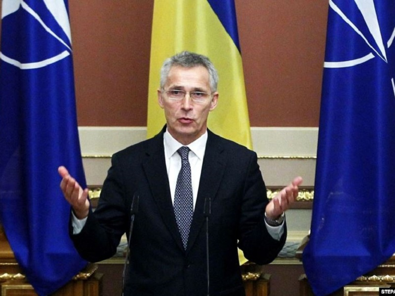 Гесек НАТО Йенс Столтенберг.
