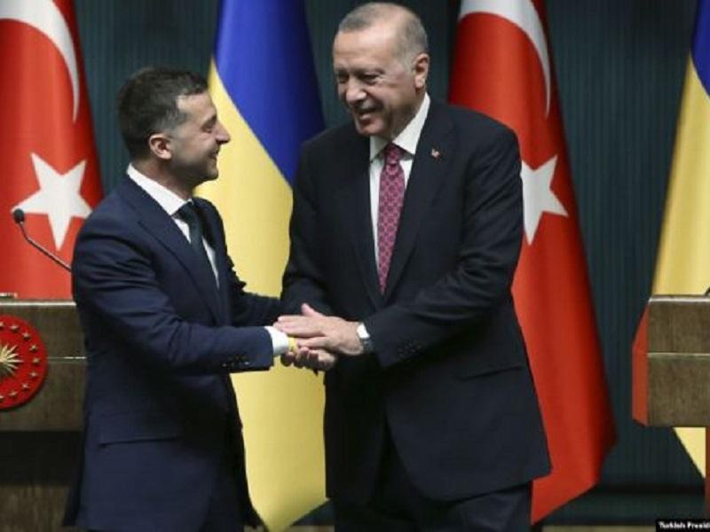 Турция окажет помощь Украине в деоккупации Крыма..