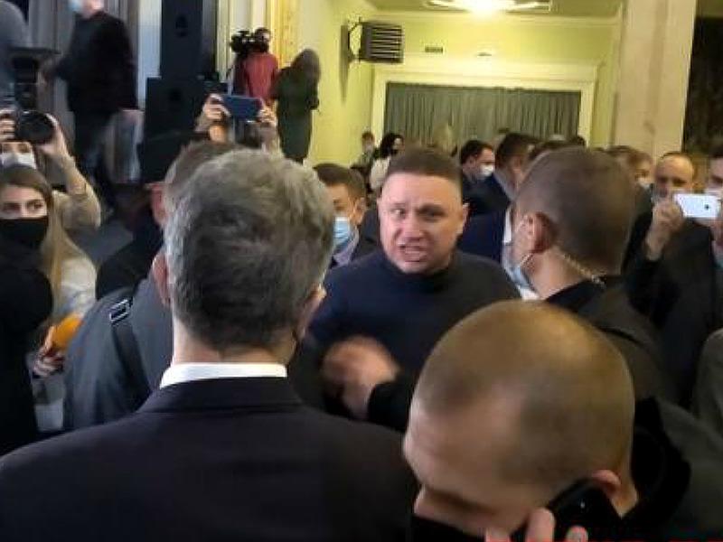 Петр Порошенко и Ярослав Гранитный