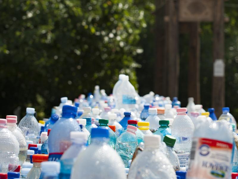 Пластик на переработку