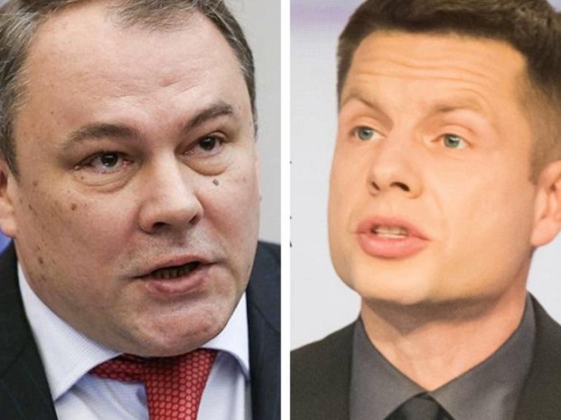 Гончаренко ответил Толстому по поводу угнетения русскоязычных граждан в Украине.