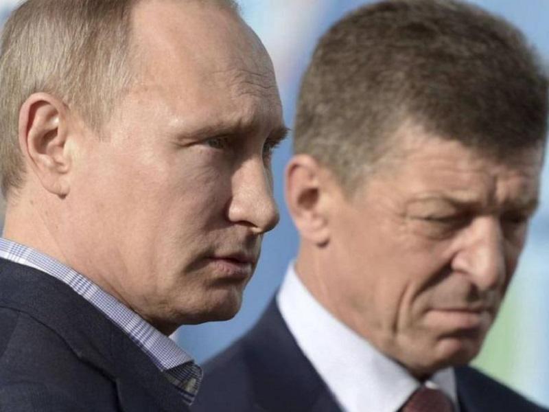 Путин отстранил Грызлова от ТКГ и заменил его на Козака.