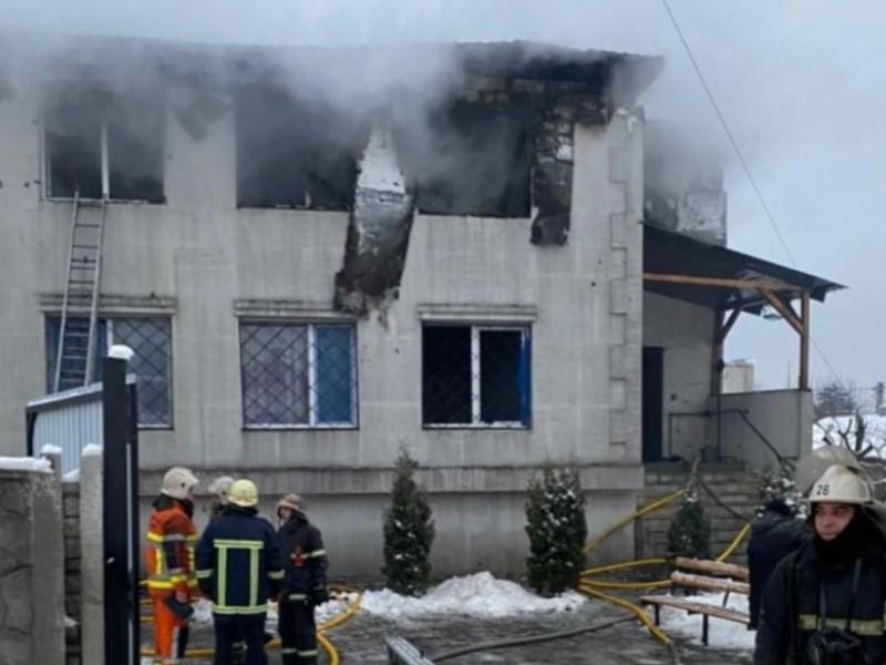 Пожар в харьковском доме престарелых