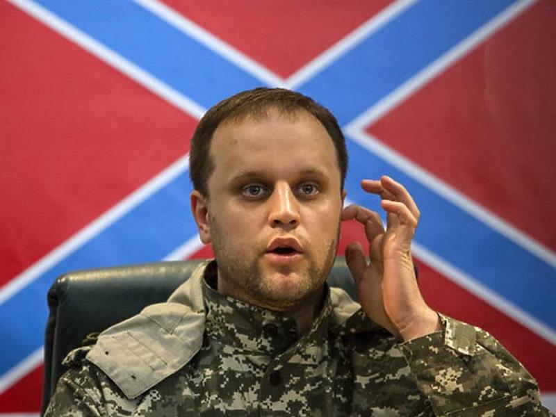 Громкое заявление экс-боевика Губарева.