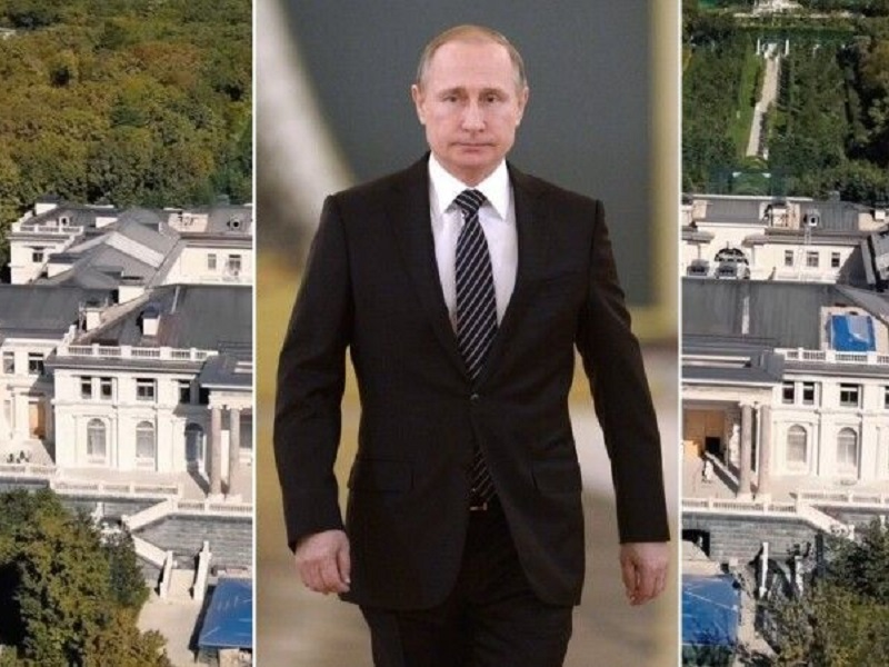"""Над """"Дворцом Путина"""" запретили полеты."""